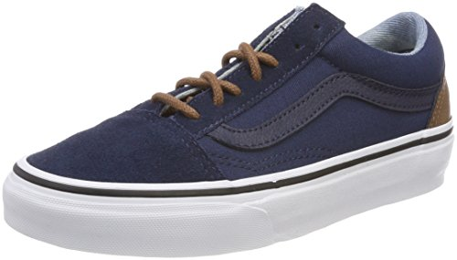 Adulto Azul Vans Yellow Unisex Skool Old Zapatillas C fRfOSqIBW