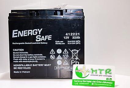 Batteria al piombo ENERGY SAFE 12V 22Ah BOOSTER Kung Long
