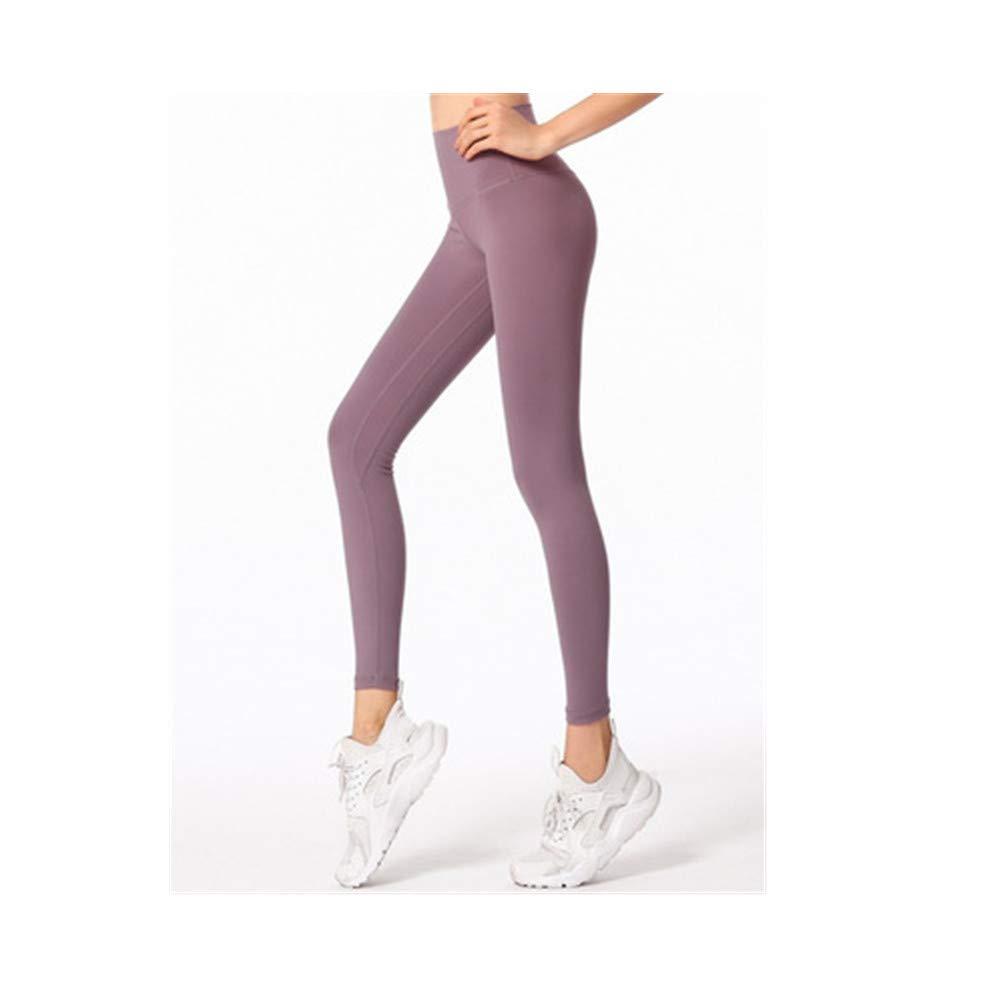 HHY Yoga Pantalon d\'exercice pour Hanches, Taille Haute, Yoga Mince, Neuf Pantalons,L