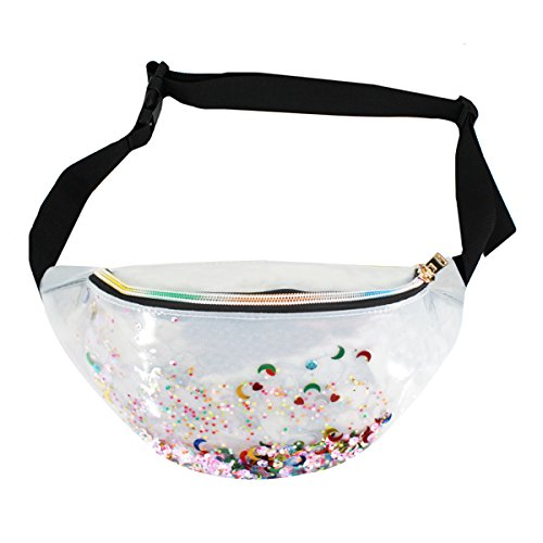 Mily Neon Holographic Fanny Pack 80s Cute Fashion Fanny Pack