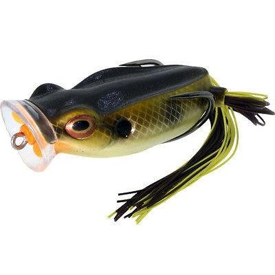 River2Sea Spittin Wa Frog Bream, 9/16-Ounce, Green/Black