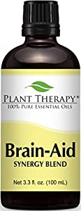 Plant Therapy Brain Aid Synergy Essential Oil Blend