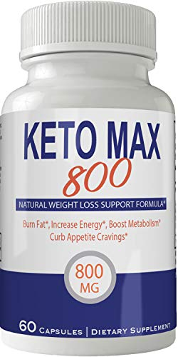 Keto Max 800 Pills Advance Weight Loss Supplement, Appetite Suppressant with Ultra Advanced Natural Ketogenic Capsules, 800 mg Fast Formula with BHB Salts Ketone Diet Boost Metabolism and Pulls Focus by nutra4health LLC (Image #3)