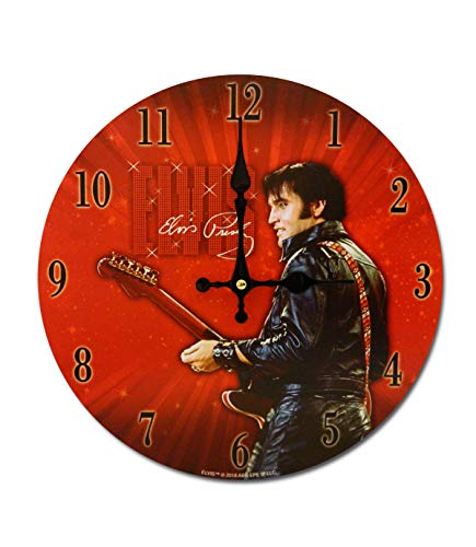 Midsouth Products Elvis Presley Clock - Elvis 68' Special 11.75