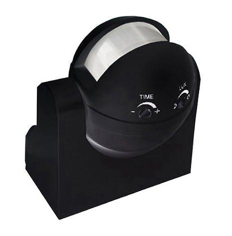 Interruptor de luz con Sensor de movimiento por Sensor buzones de pared negro