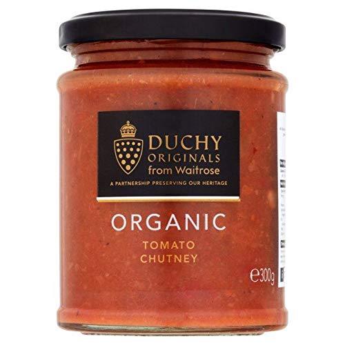 Waitrose Duchy Organic Tomato Chutney - 300g (0.66 lbs) ()