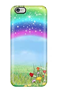 Protection Case For Iphone 6 Plus / Case Cover For Iphone(rainbow Cartoon )