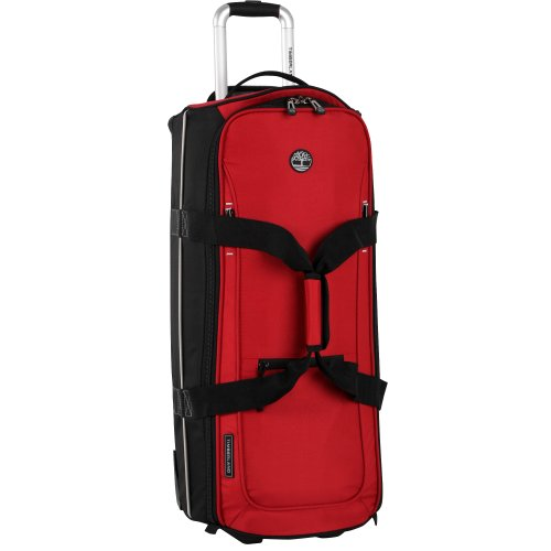 timberland-luggage-claremont-28-inch-wheeled-duffle-red-black-one-size