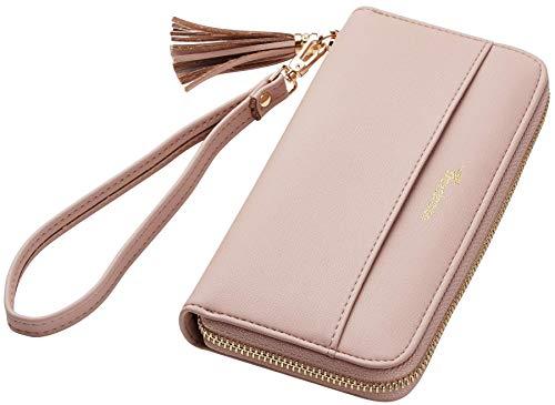 Travelambo Womens Wallet Tassel