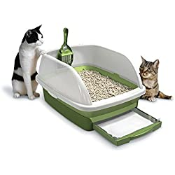 Hot Litter Boxes Tidy Cats Cat Litter, Breeze, Litter Box Kit System, 1 Kit, New