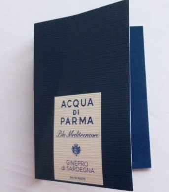 Acqua Di Parma Blu Mediterraneo Ginepro di Sardegna .04 oz / 1.2 ml edt Mini Vial Spray by Unknown (1.2 Ml Vial)