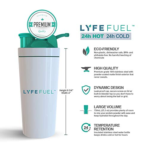LYFE FUEL Transformation Bundle - All-in-One Meal Replacement Shake + Clean & Lean Post-Workout Recovery - Low Carb Vegan Keto Protein Powder (Large Bags, Essentials Chocolate + Recovery Vanilla) by LYFE Fuel (Image #9)