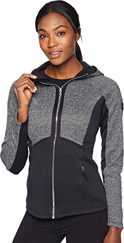 - Spyder Women's Bandita Hoody Stryke Jacket, Black/Black/Black, X-Small