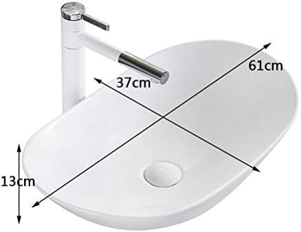 北欧のシンプル上記カウンター盆地60CMバスルームの洗面台セラミック盆地芸術盆地洗面 P3/18