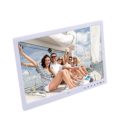 15inch High Definition Ultra-thin Digital Photo Frame MP3 Video Audio Picture E-book Player Playback Contemporary Design With Touch Button Remote ()
