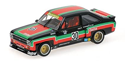 Kyosho PMA 1/43 Ford Escort II RS 1800 DRM 1976# 30 finished product