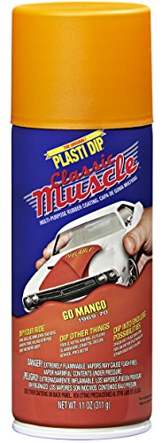 Performix 11301 Go Mango Classic Muscle Car Rubber Coating, 11 oz by Plasti Dip
