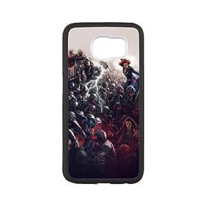 Samsung Galaxy S6 Cell Phone Case Black al92 avengers marvel hero ultron super fight art 1 D5P2YX