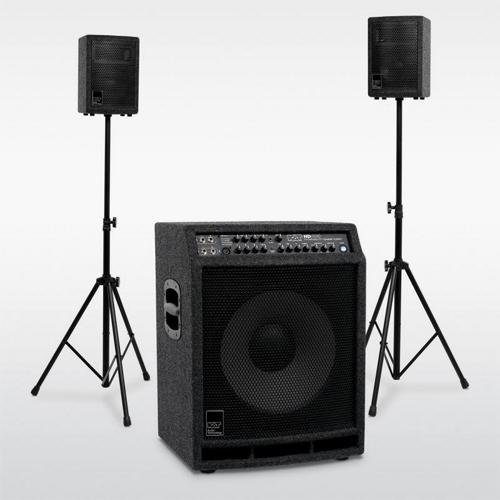 KAT Percussion 400 Watt 2.1 Stereo Drum Sound System by KAT Percussion
