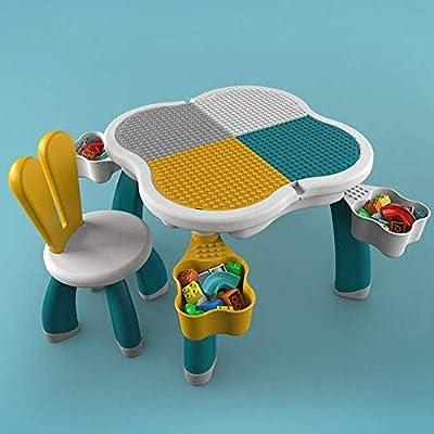 EDED 3 en 1 Actividad for niños mesa de bloques de construcción y ...