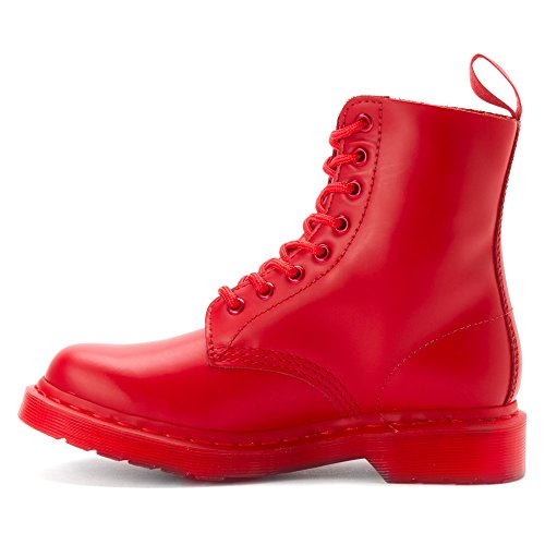 Dr. Martens Stivaletto Stringato Pascal Smooth Poppy Rosso EU 39 (UK 6)