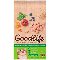 Goodlife Indoor Recipe Cat Food, 3.5 lbs