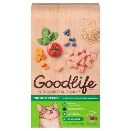 Goodlife Indoor Recipe Cat Food, 3.5 lbs