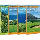 WELT EDITION GolfGuide-Bibliothek 2. Teil: Das 2. Package mit vier GolfGuides: Top 40 GolfGuide Deutschland, Holiday GolfGuide Mallorca, Holiday GolfGuide Costa del Sol, Holiday GolfGuide Südafrika