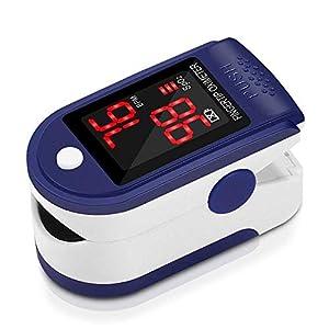 Pulsómetro Digital Oxímetro de Pulso Pulsioxímetro de Dedo con Pantalla LED, Monitor de Frecuencia Cardíaca y Medidor de… 26