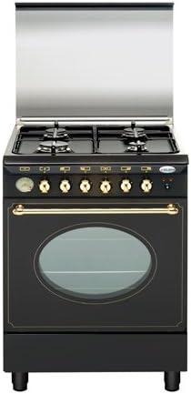 Vitrokitchen - Cocina gas 4 quemadores serie rústica glem gas ...