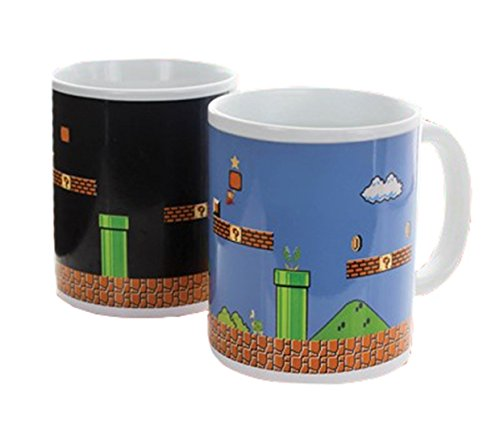 Paladone Super Mario Bros Collectors Edition Heat Change Mug