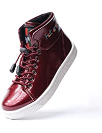 9f90093c65b002 Kids Walking High Top Sneakers Casual Shoes for Boy Girls Toddler Big Kids  Comfy Sneakers