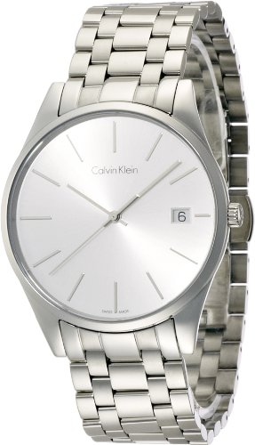 Calvin Klein Men's Date Display Steel Time Watch, K4N21146
