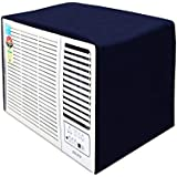 Stylista Window ac Cover 1.5 ton Waterproof and dustproof Polyester Blue Color
