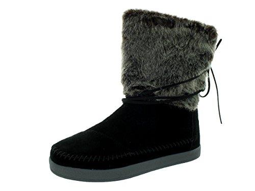 TOMS Womens Nepal Boot Black JI5bpHr