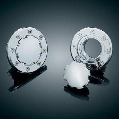 Kuryakyn 8309 ventilación montaje empotrado Gas Tapa para tornillo en tanques para Harley-Davidson: Amazon.es: Coche y moto