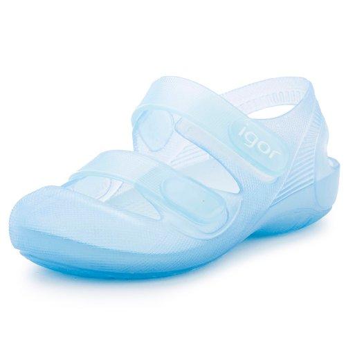71907d586 Zapatillas Playa Piscina Bondi - Color : Celeste - Talla : 22: Amazon.es:  Zapatos y complementos