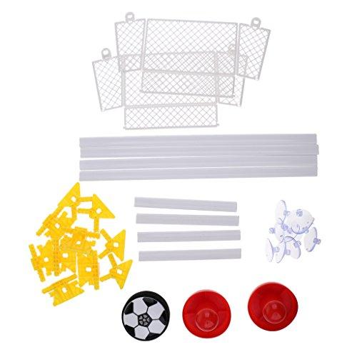 Baoblaze 1セット ホバーボール エアホッケー フットボール ホバーサッカー 屋内ゲーム 子供おもちゃ