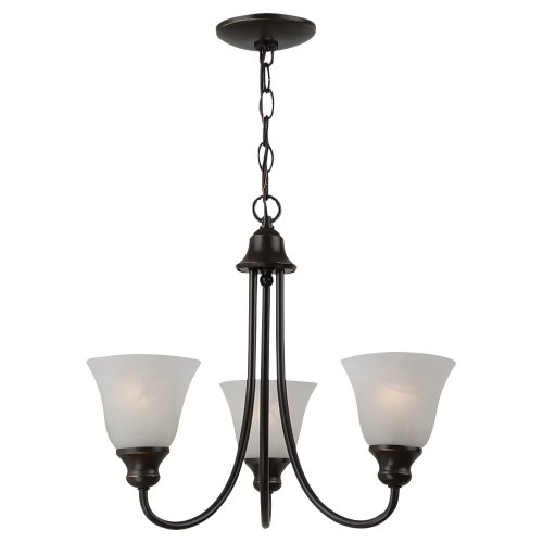 Sea Gull Lighting 35939BLE-782 3 Light Windgate Fluorescent (Fluorescent Chandelier)