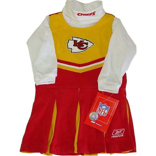 Kansas City Chiefs NFL Toddler Cheerleader Halloween Costume (Costumes Kansas City)