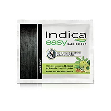 2258e7a5fec14 Buy CavinKare Indica Easy Hair Colour, Natural Black 1.0 (Pack of 5) Online  at Low Prices in India - Amazon.in