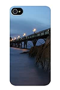 Judasslzzlc Hot Tpye Sky Nature Blue Sun Sunset Orange Clouds Sunrise Colors Case Cover For Iphone 4/4s For Christmas Day's Gifts