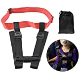 Ansblue Child Safety Harness Airplane Travel Clip Strap with Carry Pouch Bag.The Travel Harness Safety System Will Protect Your Child from Dangerous - 1pcs