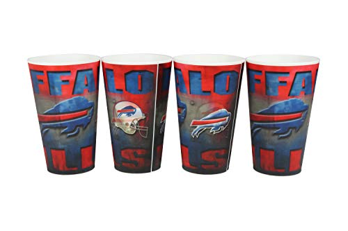 Buffalo Bills Holographic Cup 4PK