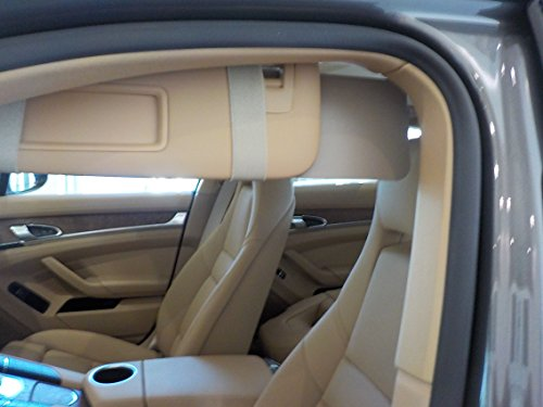 60bf7d282db 1 Pair Beige Visormates Sun visor Extenders for 3rd generation Toyota Prius