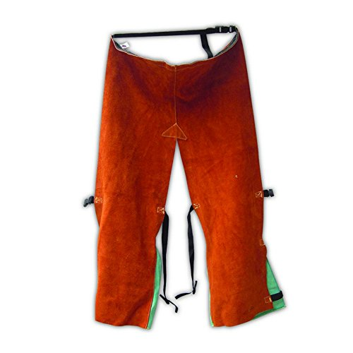 Magid Glove Safety 1041T36KVE Split Leather Chaps with En...