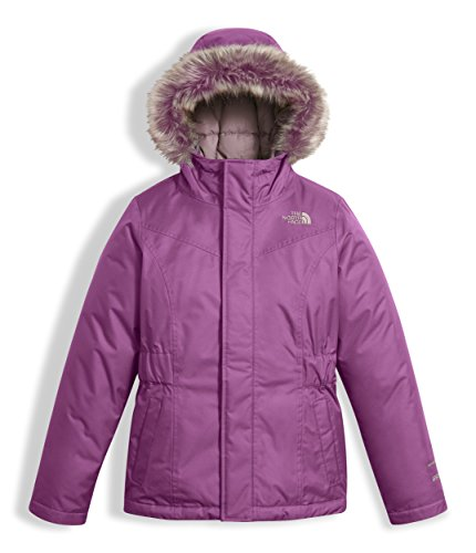 The North Face Girl's Greenland Down Parka - Wood Violet - 2XS (Past Season) by The North Face