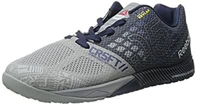 Reebok Men's R Crossfit Nano 5-0 Training Shoe, Navy/Grey/White, 7.5 M US