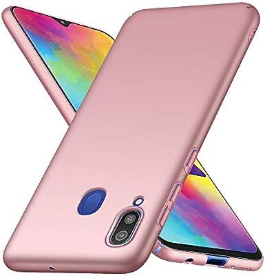 ORNARTO Funda Samsung M20, Carcasa [Ultra-Delgado] [Ligera] Mate Anti-arañazos y Antideslizante Protectora Sedoso Caso para Samsung Galaxy M20(2019) 6,3 Pulgadas Oro Rosa: Amazon.es: Electrónica
