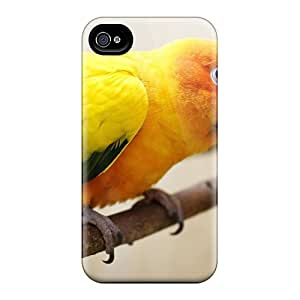 New Arrival QrUYmlp5265CtWsF Premium Iphone 4/4s Case(parrot On A Branch)